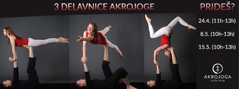 3 Delavnice AkroJoge